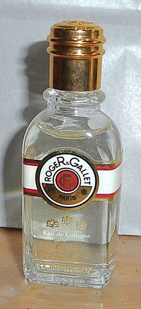 ROGER & GALLET - EAU DE COLOGNE EXTRA-VIEILLE 15 ML : IDENTIQUE A LA PHOTO PRECEDENTE