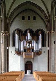 Orgue Kuhn de la cathédrale de Minden (D)