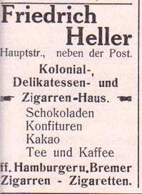 Anzeige 1914