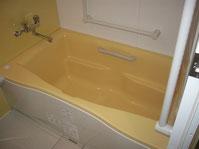 ユニットバス浴槽混合水栓