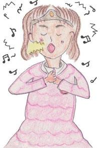 歌うオッホッホ姫