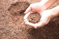 牛糞堆肥の写真