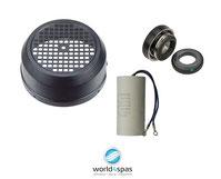 Whirlpool Pumpe Kondensator, Lüfterdeckel, Gleitringdichtung, Schleifringdichtung