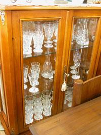 フランス製グラスのLa Rochere(ラ・ロシェール)も展示販売しています。