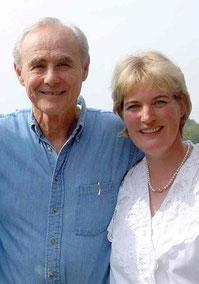 Maya de Vries und Gary Craig nach dem EFT Master Examen 2005