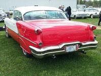 Heck des 1956er Oldsmobile