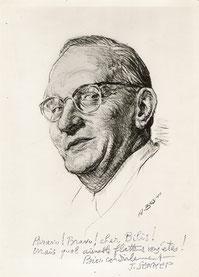 Jean-Jacques Sennep  dessinateur et caricaturiste 1959