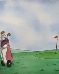 『ゴルフの本』2ページ目