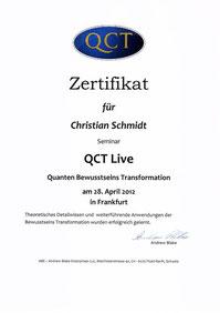 Weiterbildung in QCT