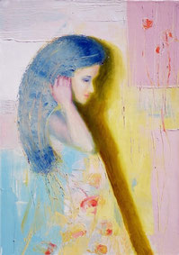 Expecting. 2012, oil canvas