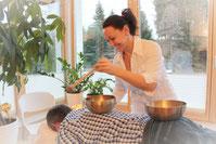 Zur Stärkung des Urvertrauens, als Zusatztherapie zur Burn-out Behandlung
