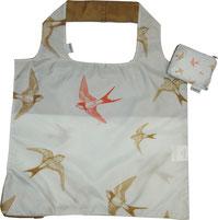 Chilino Bag Tasche Vögel, silber