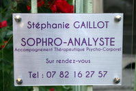 GAILLOT Stéphanie -Sophrologue analyste