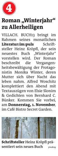 WOCHE Villach 31.10.2018