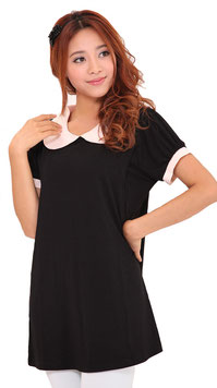 nursing top color black