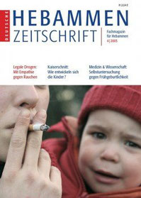 Cover: Deutsche Hebammen Zeitschrift Heft 4 / 2005