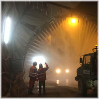 Link to tunnelling / down under