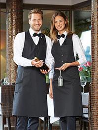 Halstücher-Kochjacken-Krawate-Latzschürzen-Kleidungservice