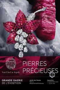 Exposition Pierres Précieuses Paris