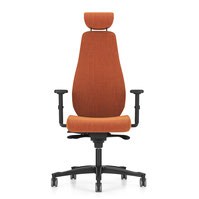 Bürostuhl Bürodrehstuhl Nowystyl Bjark HB UPH Polster + Kopf-Nackenstütze