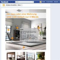 Der Einzug von Ballwanz Immobilien in Facebook
