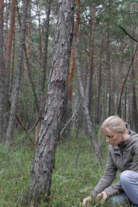 Martina im Wald