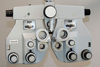 Augenmessung im Refraktionsraum