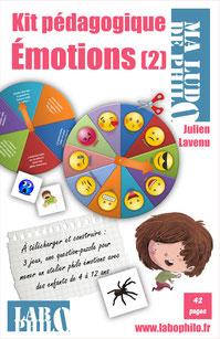 Un kit de jeux pour continuer à travailler sur les émotions en s'amusant