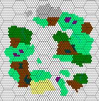 Synchronisierung mit Hex-Raster