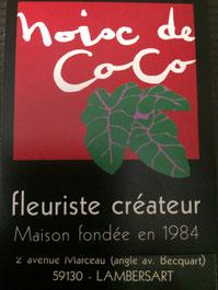 noix de coco fleuriste createur