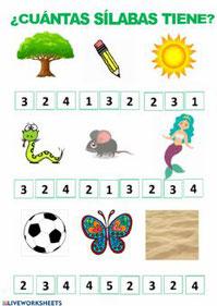 ¿Cuántas sílabas tiene?