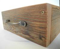 Schublade Altholz
