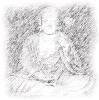僧形文殊菩薩像(根本中堂安置)