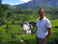 Sri Lanka Kenner Touristik-Fachwirt Olaf Diroll während Sri lanka Tour