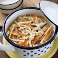 高野豆腐の五目スープ