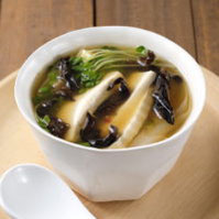 きくらげと豆腐の中華スープ
