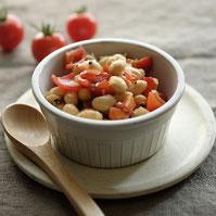 大豆のサルササラダ