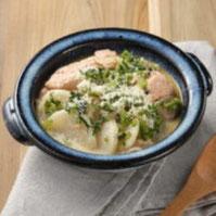 かぶとしゃけの味噌煮込み鍋
