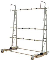 TSF 1000 Glastransportwagen transportsolution bis 1000 kg Traglast