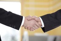 ビジネスの握手