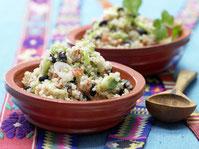 Quinoa-Sellerie-Pfanne