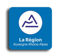 sticker immatriculation region département  rhone alpes