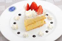 コントレールのショートケーキ