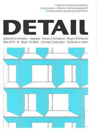 Deckblatt der Zeitschrift Detail