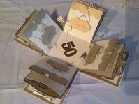 Geschenkkarte in Schachtelform