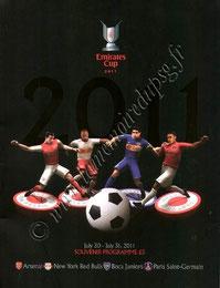 2011-07-30 et 31  Red Bulls New York-PSG et Boca Junior-PSG  (Emirates Cup à Londres)