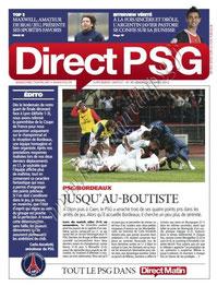 2012-03-25  PSG-Bordeaux (29ème L1, Direct PSG N°30)