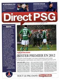 2012-01-14  PSG-Toulouse FC (20ème L1, Direct PSG N°26)