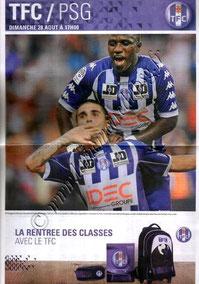 2011-08-28  Toulouse-PSG (4ème L1, Programme officiel)