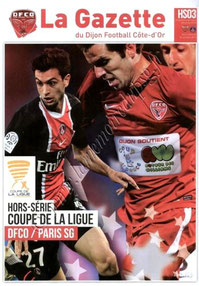 2011-10-26  Dijon-PSG (8ème Finale CL, La gazette du DFCO N° HS03)